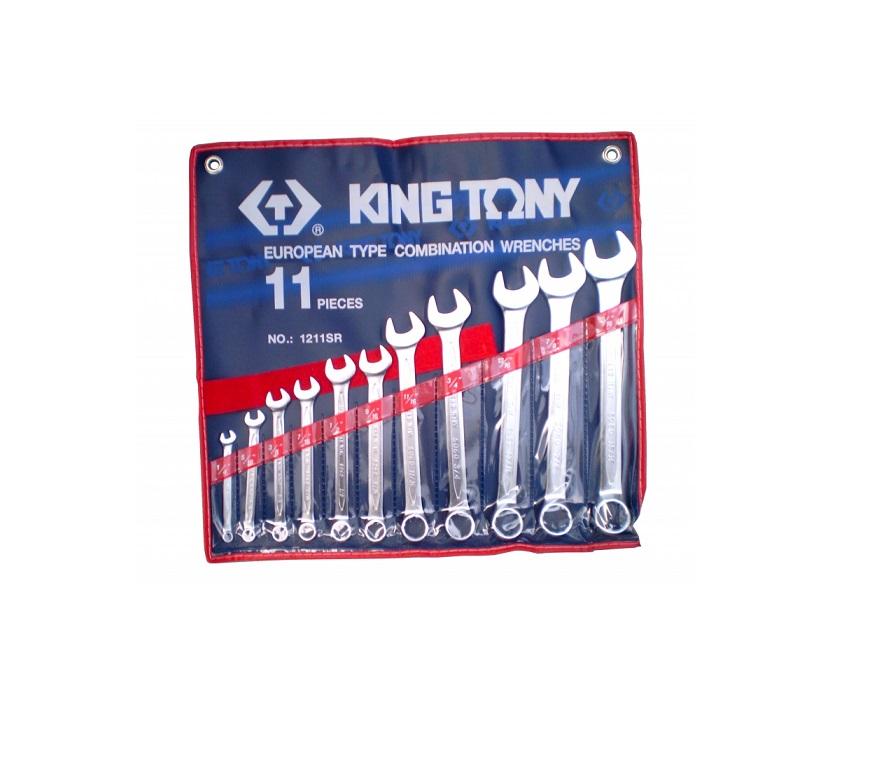 King tony csillag-villáskulcs készlet 11 részes 1211sra