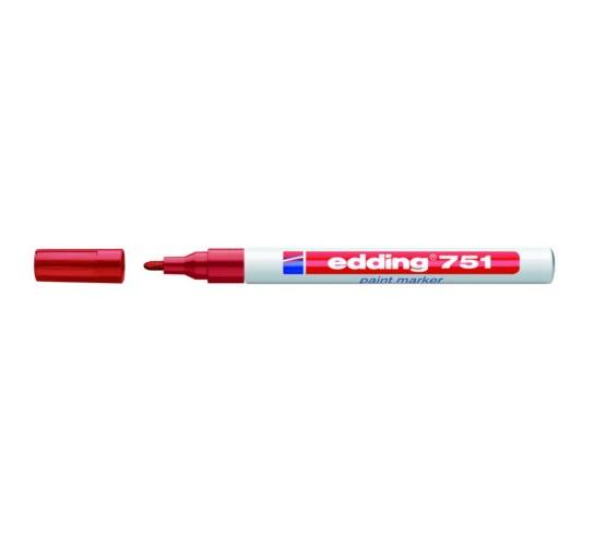 Edding 751 lakkmarker piros